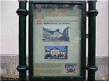 W7966 : Information Board, Cobh Market House by Kenneth  Allen