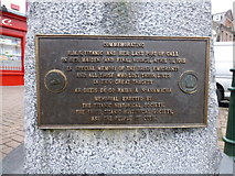 W7966 : Titanic Memorial Plaque, Cobh by Kenneth  Allen