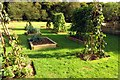 SU6787 : The vegetable garden at Nuffield Place by Steve Daniels