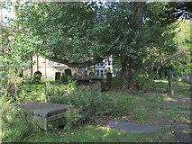 NZ2564 : All Saints Church, Pilgrim Street - churchyard by Mike Quinn