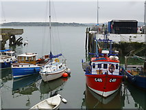 W7966 : Small boats in Cobh harbour by Kenneth  Allen