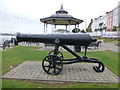 W7966 : Crimean War cannon, White Star Line Parade Grounds, Cobh by Kenneth  Allen
