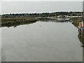 TM2950 : River Deben from Wilford Bridge towards Woodbridge by Adrian S Pye