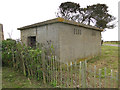 TM3539 : Engine or generator house for the WW2 Bawdsey Battery by Adrian S Pye