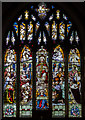 TQ5827 : East Window, St Dunstan's church, Mayfield by Julian P Guffogg