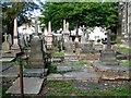 SO9490 : Memorials in the churchyard of St Thomas's parish church by High Street, Dudley by Robin Stott