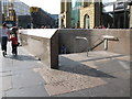 NZ2464 : Entrance to Monument Metro station in Blackett Street by Mike Quinn