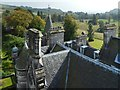 NS4276 : Overtoun House: rooftop view by Lairich Rig