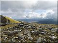 NH1471 : Summit cairn of Toman Coinnich by Julian Paren