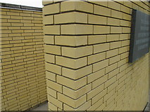 SP5206 : Special size bricks of St Catherine's College Oxford by David Hawgood