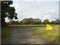 SP0777 : Car boot sale site, Dark Lane, Hollywood by Robin Stott