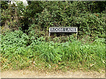 TM2490 : Room Lane sign by Adrian Cable