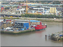 TQ3980 : The Only Lighthouse in London, Trinity Buoy Wharf, London by Christine Matthews