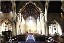 SH7882 : The Nave of Holy Trinity Church, Llandudno by Jeff Buck