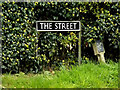 TM2290 : The Street sign by Adrian Cable