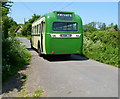 SO7309 : Preserved bus heads towards Fretherne by Jaggery
