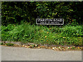 TM2388 : Starston Road sign by Geographer