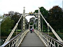 SO5139 : Victoria Bridge, Hereford by Brian Robert Marshall