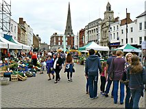SO5140 : West along High Town, Hereford by Brian Robert Marshall