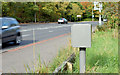 J3269 : Traffic counter near Shaw's Bridge, Belfast (October 2014) by Albert Bridge