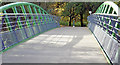 J3269 : The John Luke footbridge, Newforge, Belfast (October 2014) by Albert Bridge