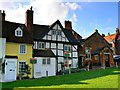 SU1869 : 31 and 32 The Green, Marlborough by Brian Robert Marshall