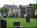 SD9126 : Cornholme - Vale Baptist Church yard by Dave Bevis