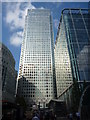 TQ3780 : London Cityscape : Gleaming Tower, Canary Wharf by Richard West