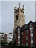 TQ4094 : Church tower, St James' United Reformed Church, Buckhurst Hill by Bikeboy