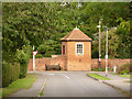 SK7890 : Gazebo at The Hall, Beckingham by Alan Murray-Rust