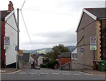 ST1586 : Southern end of Southern Street, Caerphilly by Jaggery