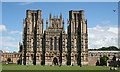 ST5545 : Wells Cathedral by Anne Burgess