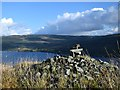 NM9307 : Cairn overlooking Loch Awe by Patrick Mackie