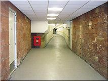 NY4055 : Subway at Carlisle railway station by Rose and Trev Clough
