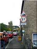 SK2375 : Road signs at the bottom of High Street by Graham Hogg
