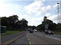 TL8663 : A134 Rougham Road, Bury St.Edmunds by Geographer