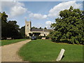 TL8262 : St.Leonards Church, Horringer by Adrian Cable