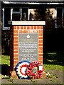 TL7857 : Memorial to RAF Chedburgh by Adrian Cable