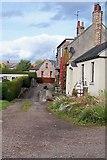 NT9249 : Village lane by David Chatterton