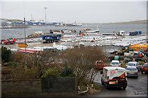 HU4642 : New quay at Holmsgarth, Lerwick by Mike Pennington