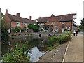 TM0733 : Flatford Mill by Chris Allen