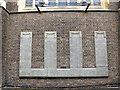 TQ2870 : St James Church, West Streatham: war memorial by Stephen Craven