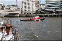 TQ3280 : North Bank of the River Thames from near London Bridge by Christine Matthews