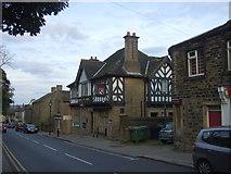 SE1614 : The Radcliffe Arms pub, Almondbury by JThomas