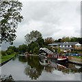 SJ9420 : Canal near Wildwood, Stafford by Roger  Kidd