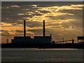 TQ6675 : Tilbury Power Station, Essex by Christine Matthews