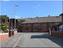 SJ3591 : Everton Drill Hall from Gregson Street by John S Turner