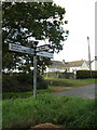 TL7248 : Roadsign on Mary Lane by Adrian Cable