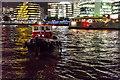 TQ3380 : Tug in the River Thames, London by Christine Matthews