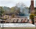 SJ9595 : Demolition Work at the former Dye Works (2) by Gerald England